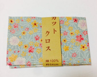 FREE SHIPPING, 50cm x 54cm, Japanese cotton fabric,  japanese tradhitional pattern fabric,  DIY fabric, patchwork