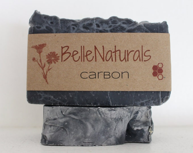 Featured listing image: Carbon - Activated Charcoal Acne Soap with Tea Tree Essential Oil