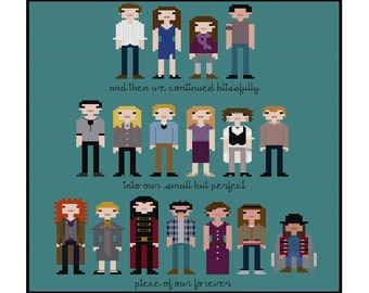 Twilight Saga Parody- Cross Stitch Pattern PDF Instant Download