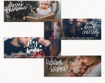 Christmas Facebook Banner, Christmas Facebook timeline, Christmas Facebook cover template, Facebook Template, Happy Holidays photographers
