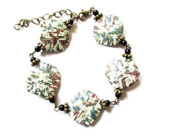 bracelet paper beads
