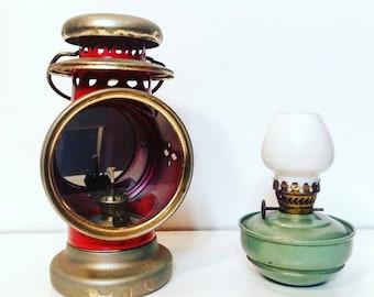1930s oil lamps