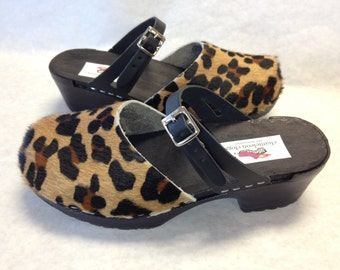 cheetah cowhide Mary Jane