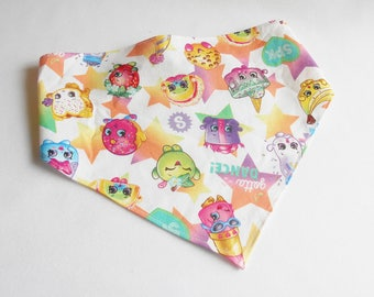 Shopkin Characters On Girls Head Scarf