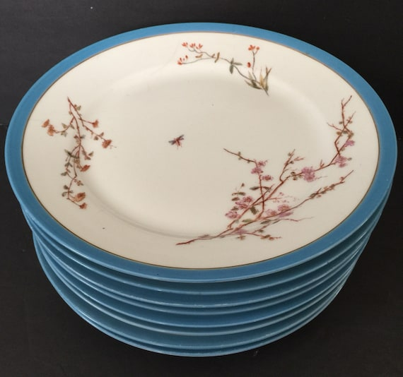 Like this item? & Antique Limoges Dinner Plates Tressemanes and Vogt Set of