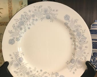 Wedgwood Bone China Salad Plate In Belle Fleur - Made In England