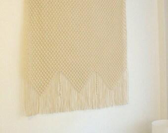 EXPRESS SHIPPING Large macrame wall hanging, macrame headboard, macrame curtain, Home Decor tapestry, wedding backdrop, wall art