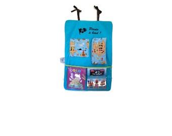 Empty pockets car special small-pirate kids storage - storage car-pirate decor - gift-boy personalized gift idea