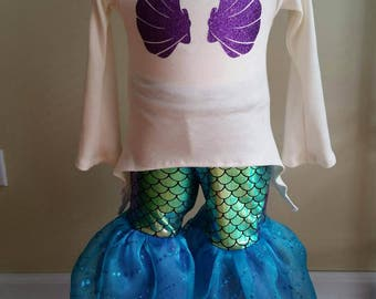 Mermaid Costume, Princess Dress, Costume, Mermaid