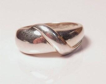 Vintage Silver Design Ring