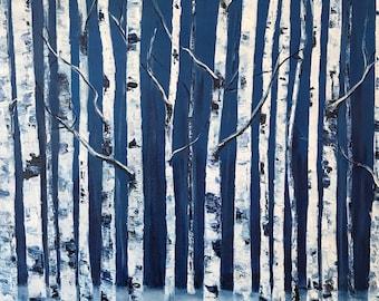 """Winter Wanderings - 18""""x24"""""""