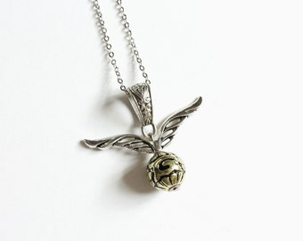 Flying Snitch Necklace