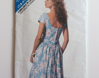 See and Sew sewing pattern 6394/724 Misses' dress and petticoat Size 6 to 14