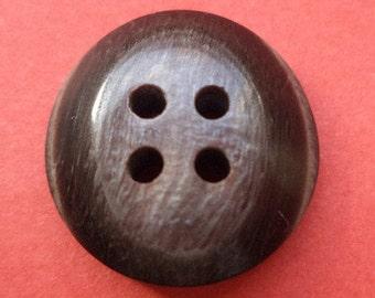 14 buttons dark brown 15mm (269) button
