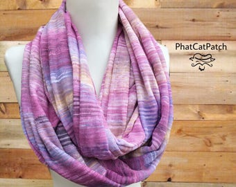 Boho scarf, Purple scarf, Violet Purple infinity scarf, scarves, oversized Scarf, Full Women's Scarf, girlfriend gift, clothing gift for her