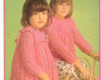 Vintage crochet pattern Paton's 375
