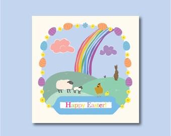 Fun Luxury Easter Card