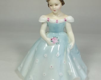 ROYAL DOULTON The Bridesmaid Lady Figurine  1959 HN2196 good condition
