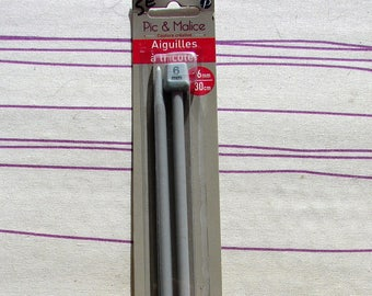 Knitting needle spike & 6mm aluminum Malice