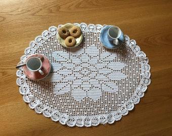 Crochet Filet Flower