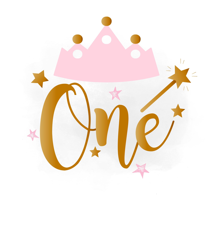 1st birthday svg clipart baby girl birthday crown birthday three rh etsystudio com first birthday cake clipart first birthday boy clipart