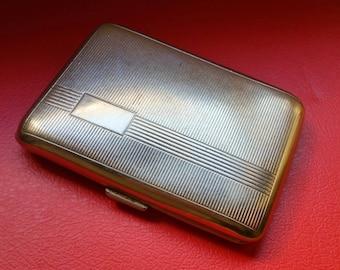 Vintage Metal Cigarette case Made in Germany