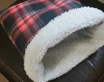 Critter Snuggle Sack, Hedgehog Bed, Hedgehog, Hedgehog Snuggle Sack, Guinea Pig Bed, Guinea Pig, Burrow Bag, Animal Sack