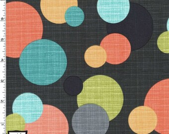 In the Round Fabric - Clementine - sold by the 1/2 yard
