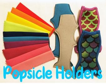 Popsicle Holder / Mermaid Popsicle Holder, Shark Popsicle Holder, Personalized Popsicle Holder, Flavored Popsicle Holder, Party Favor Holder