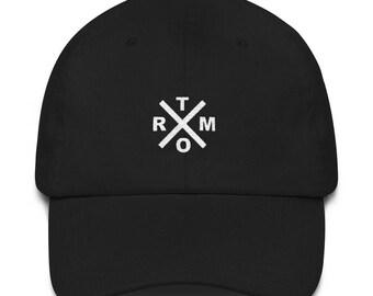 Trxmo Basic Logo Black Dad Hat