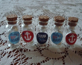 Gender Reveal Baby Shower Favors; Nautical Shower Favors; Gender Reveal Baby Shower Table Decorations; Gender Reveal Favors; Shower Favors