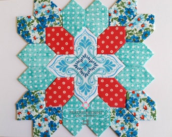 Lucy Boston Patchwork of the Crosses - Traditional / Modern Block # 10