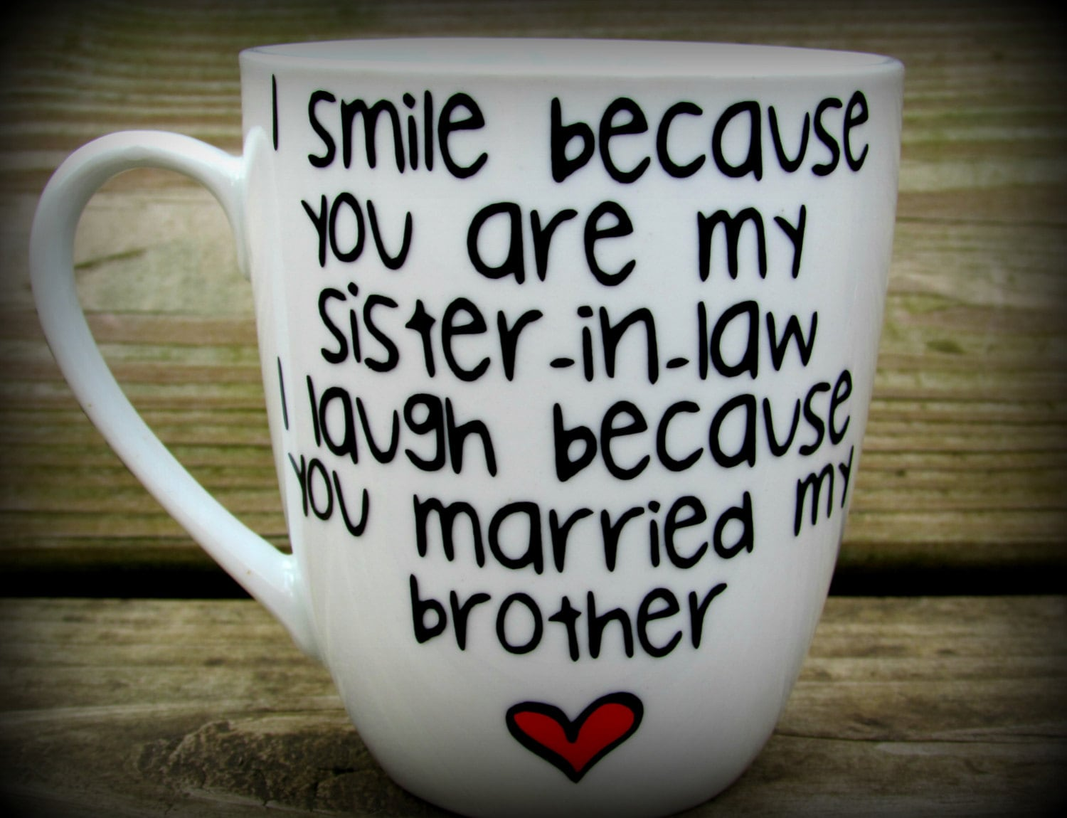 Wedding Gifts For Sister In Law: Sister In Law Sister In Law Gift Sister In Law Mug Sister