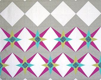 Chevron Star Quilt Pattern