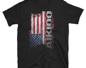 Akido T-Shirt - Akido Tee - Akido Shirts - Akido Self Defense - Akido Gifts For Men And Women