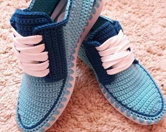 Crochet  adult sneakers
