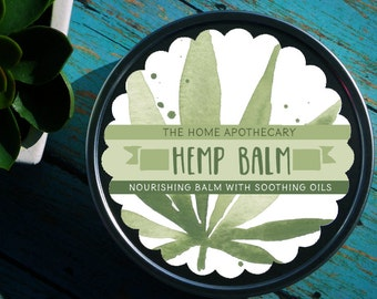 Hemp Seed Oil Balm /// <<<