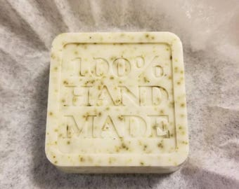 Hand made Shea Butter, Lavander and Organic Chamomile soap