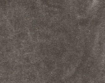 "58"" Charcoal Stretch Velvet-12 Yards Wholesale by the Bolt (VT0534)"