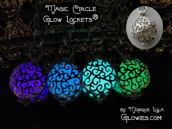Magic Circle Glow Locket Necklace