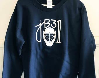 Navy Blue jB31 Crew Neck Sweatshirt