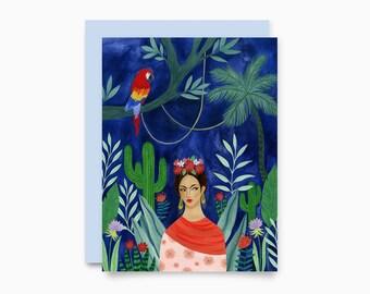 Frida greeting card