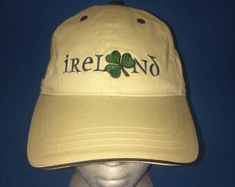 Vintage Ireland Miller Light Strapback Hat Adjustable 1990s