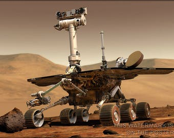 Poster, Many Sizes Available; Nasa Mars Rover Spirit  Opportunity