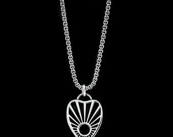 Ouija Necklace Sterling Silver Witchcraft Goth