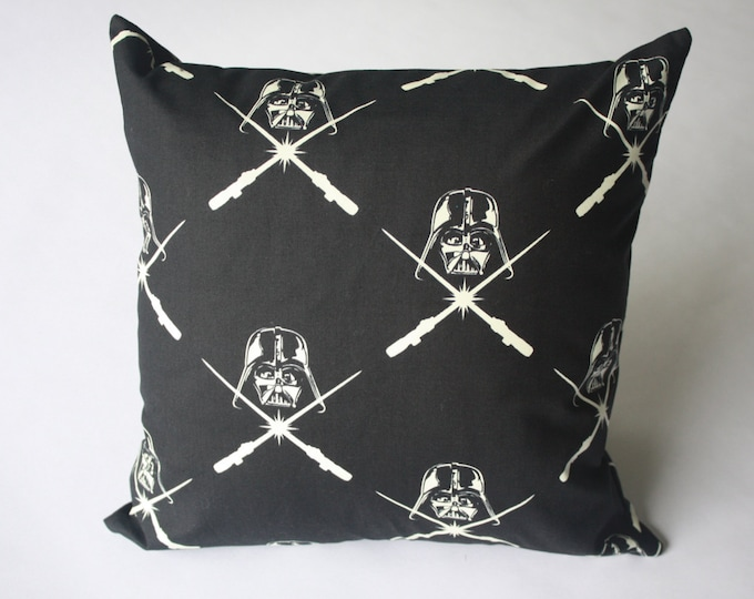 Star Wars pillow--Glow In The Darth Vader pillow-MTO