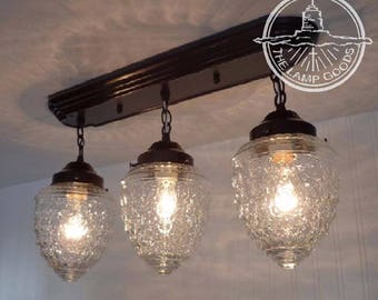 Island Falls. CEILING LIGHT Rectangular Trio