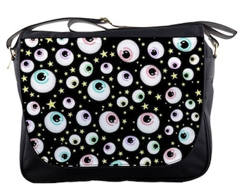 Eye Spy Messenger Bag