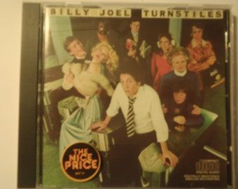 Billy Joel:   Turnstiles    CD