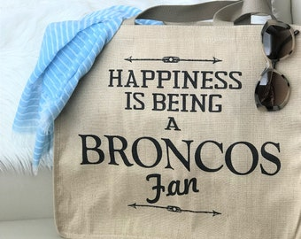 Denver bronco gift,bronco gift,Denver Bronco jersey,bronco fan,bronco bag,bronco tote,broncos,football,football gifts,bronco present